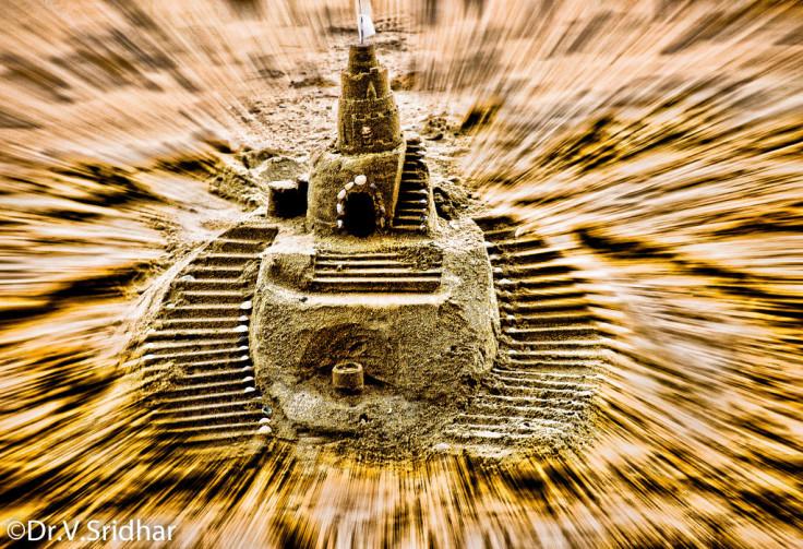 Castle the sand