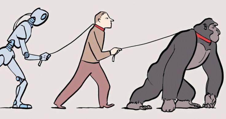 Man-mechine-animal
