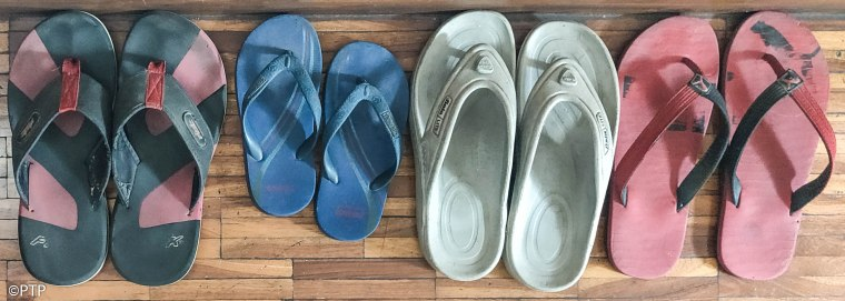 Organised foot ware