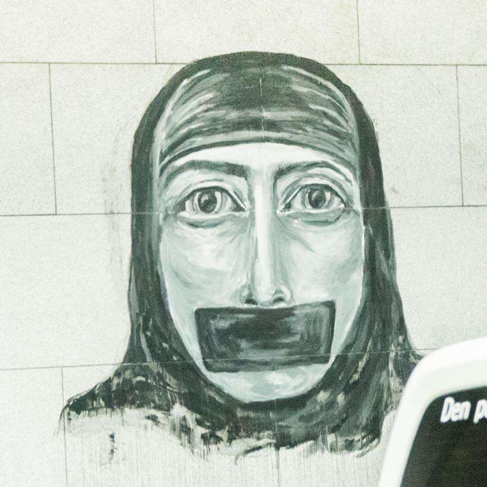 Wall art graffiti