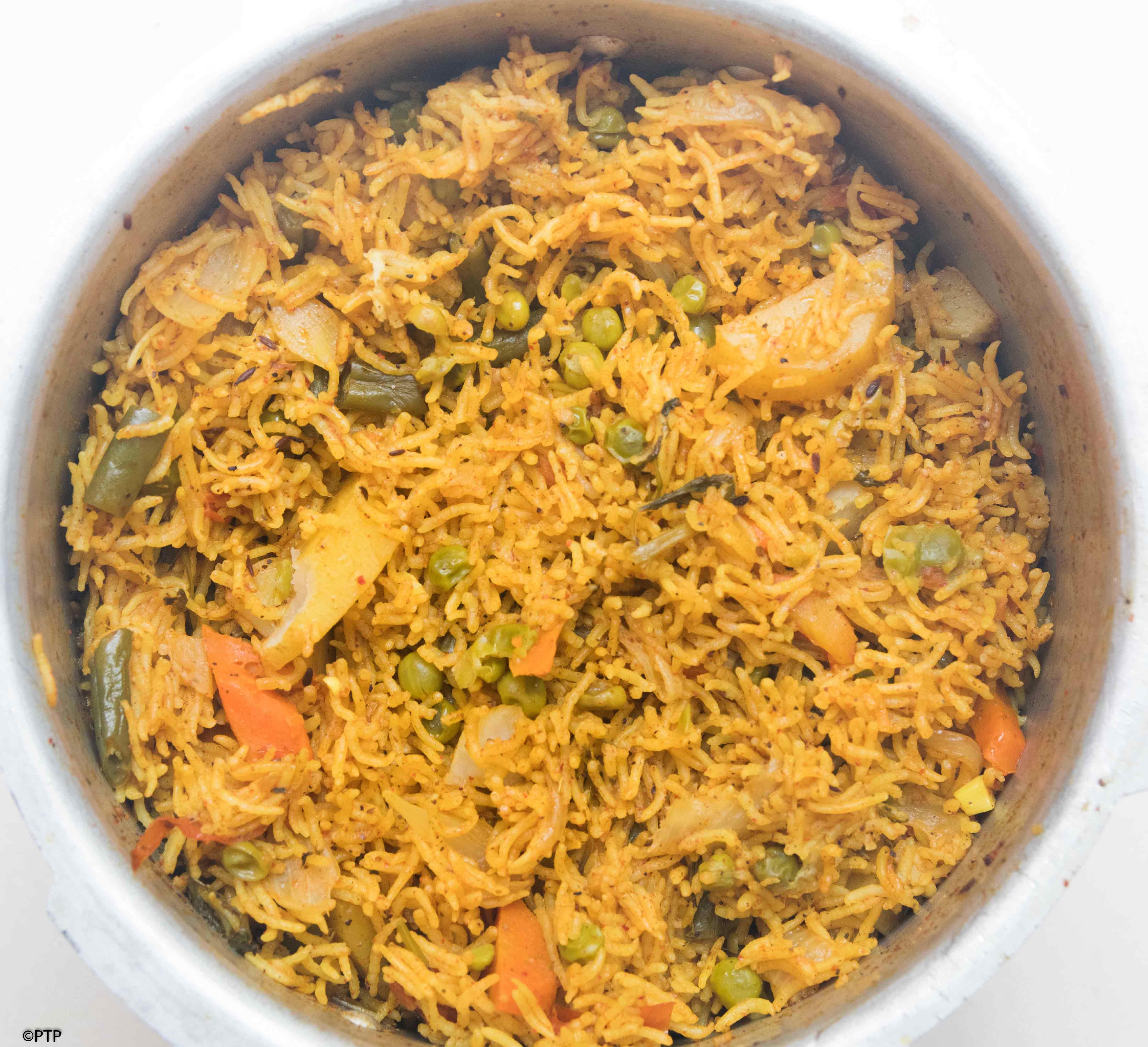 Indian Cuisine-Vegetable Biryani