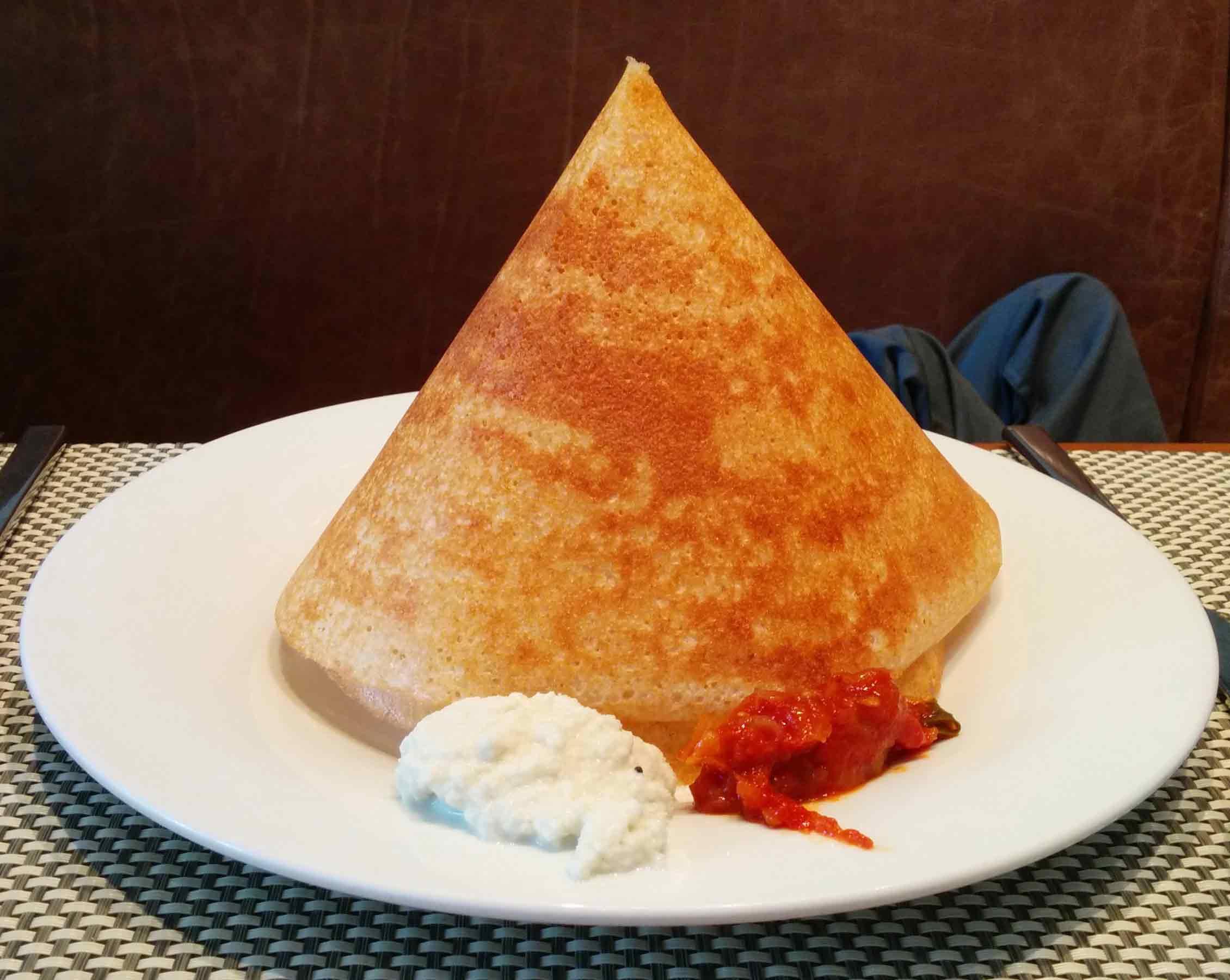Indian cuisine-Dosa