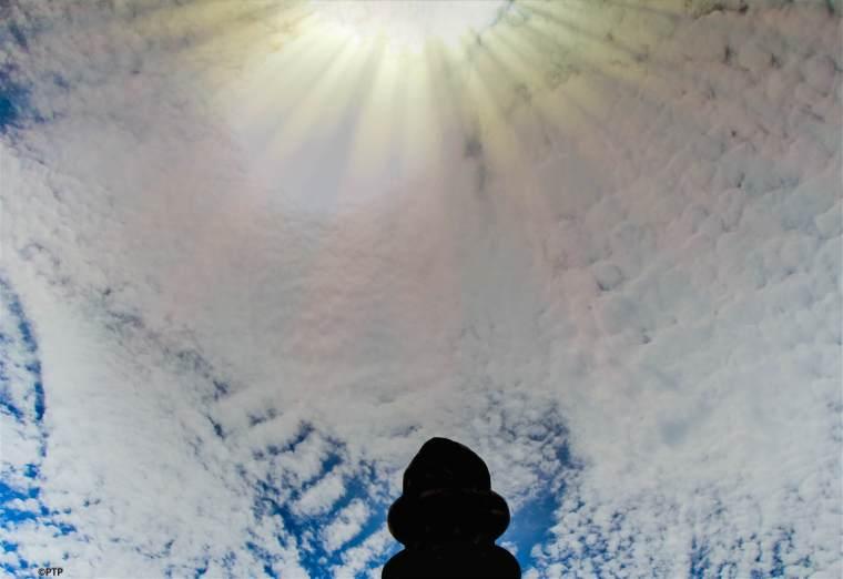 Sky,Sun,Clouds